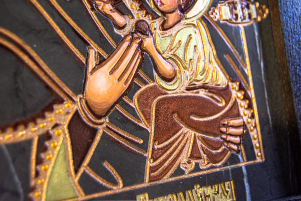 Икона Будславской Богоматери № 3-02, изображение, фото 8