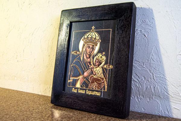 Икона Будславской Богоматери № 3-02, изображение, фото 9