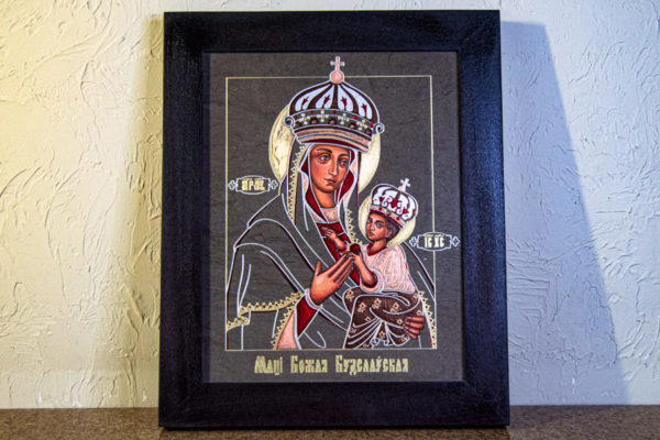 Икона Будславской Богоматери № 3-01, изображение, фото 1