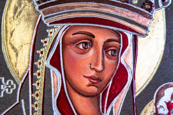 Икона Будславской Богоматери № 3-01, изображение, фото 4