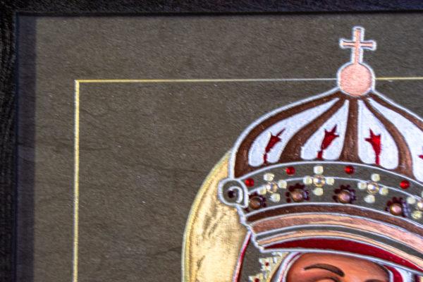 Икона Будславской Богоматери № 3-01, изображение, фото 5