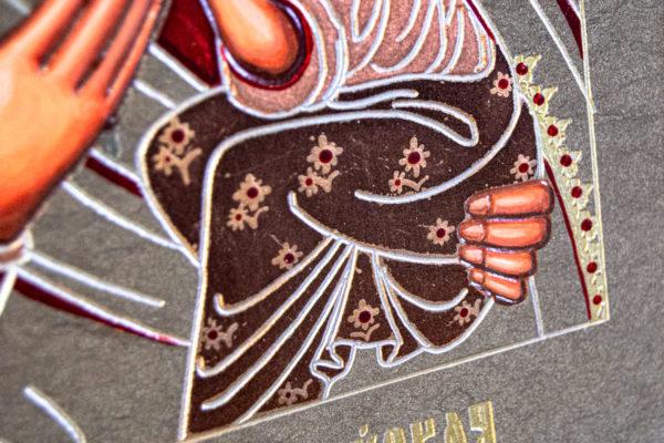 Икона Будславской Богоматери № 3-01, изображение, фото 6