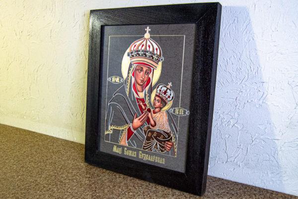 Икона Будславской Богоматери № 3-01, изображение, фото 7