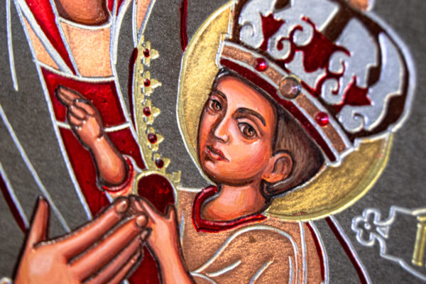 Икона Будславской Богоматери № 3-01, изображение, фото 9