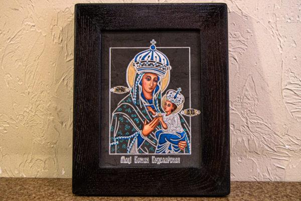 Икона Будславской Богоматери № 3-03, изображение, фото 1