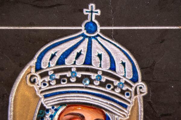 Икона Будславской Богоматери № 3-03, изображение, фото 2