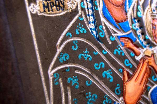 Икона Будславской Богоматери № 3-03, изображение, фото 4