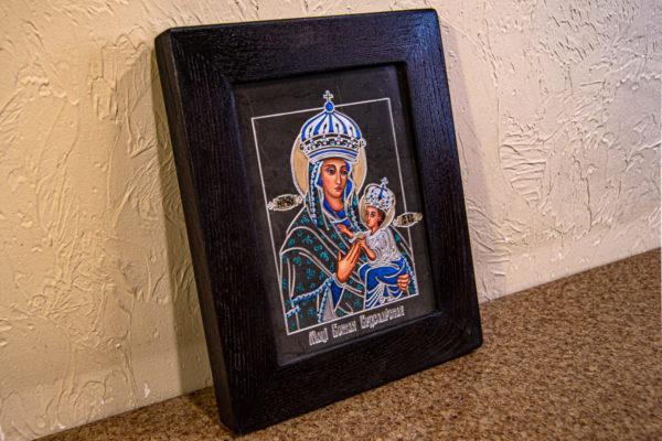 Икона Будславской Богоматери № 3-03, изображение, фото 5