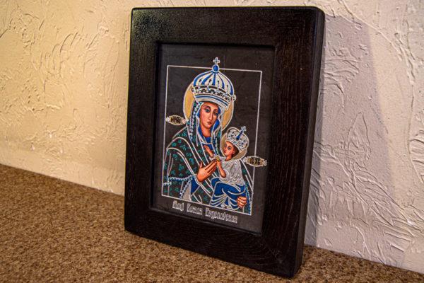 Икона Будславской Богоматери № 3-03, изображение, фото 6