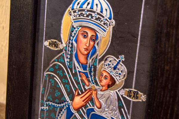 Икона Будславской Богоматери № 3-03, изображение, фото 7