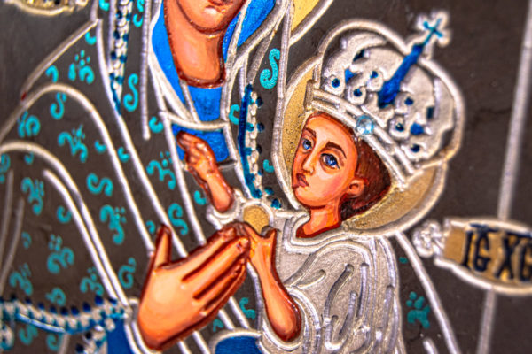 Икона Будславской Богоматери № 3-03, изображение, фото 8