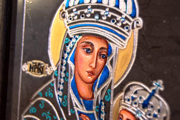 Икона Будславской Богоматери № 3-03, изображение, фото 9