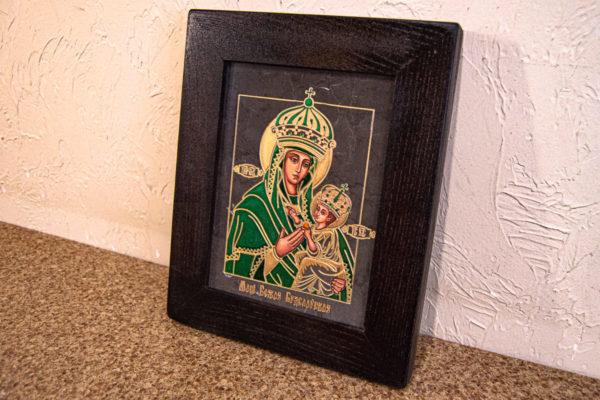 Икона Будславской Богоматери № 3-04, изображение, фото 3