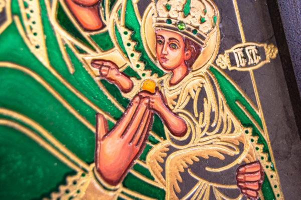 Икона Будславской Богоматери № 3-04, изображение, фото 5