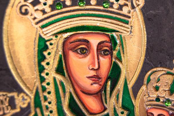 Икона Будславской Богоматери № 3-04, изображение, фото 6