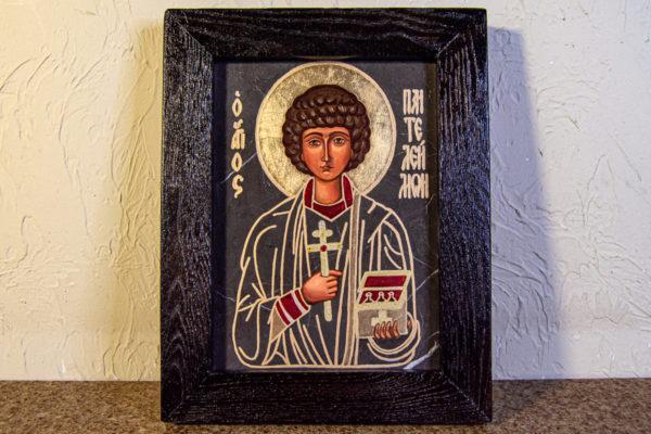 Икона Святой Пантелеймон № 3-3, изображение, фото 1
