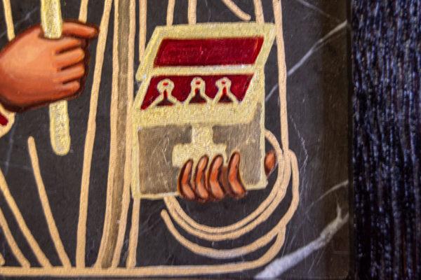 Икона Святой Пантелеймон № 3-3, изображение, фото 2