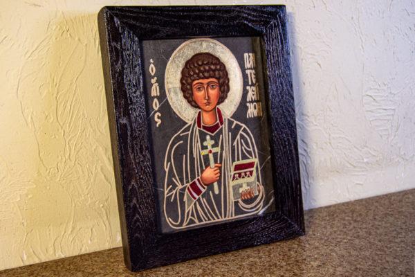 Икона Святой Пантелеймон № 3-3, изображение, фото 3