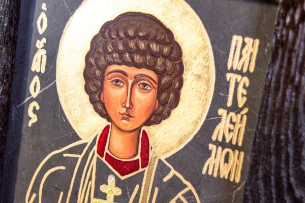 Икона Святой Пантелеймон № 3-3, изображение, фото 4