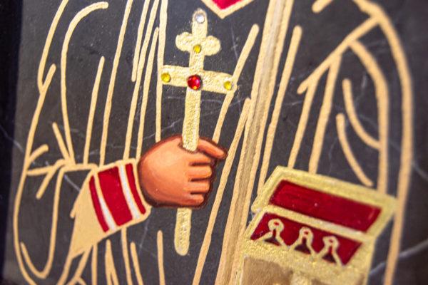 Икона Святой Пантелеймон № 3-3, изображение, фото 5