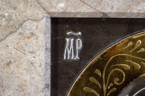 Икона Казанской Божией Матери № 3-12-7 из мрамора, камня, от Гливи, фото 13