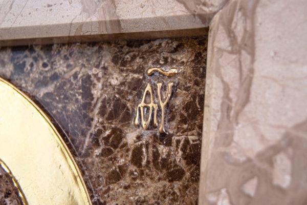 Икона Казанской Божией Матери № 4-12-2 из мрамора, камня, от Гливи, фото 10