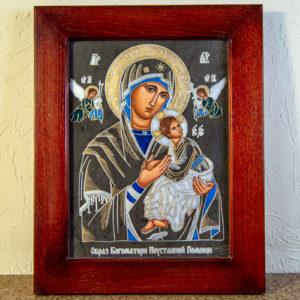 Икона Богоматерь Неустанной Помощи (Страстная икона Божией Матери) № 3-2, изображение, фото 1