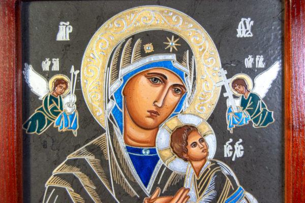 Икона Богоматерь Неустанной Помощи (Страстная икона Божией Матери) № 3-2, изображение, фото 2