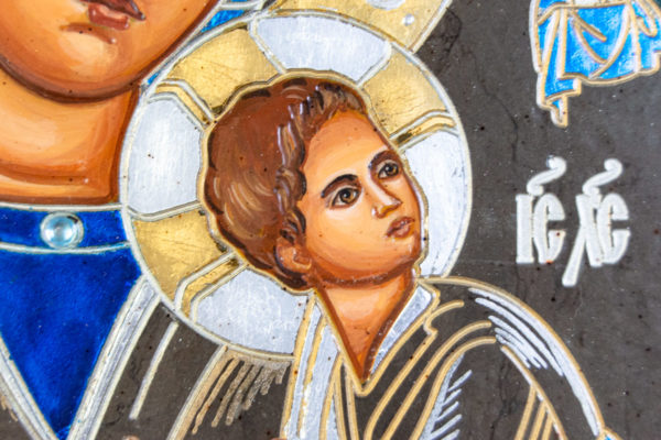 Икона Богоматерь Неустанной Помощи (Страстная икона Божией Матери) № 3-2, изображение, фото 3
