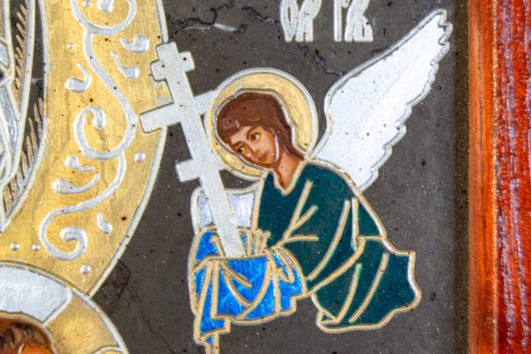 Икона Богоматерь Неустанной Помощи (Страстная икона Божией Матери) № 3-2, изображение, фото 4