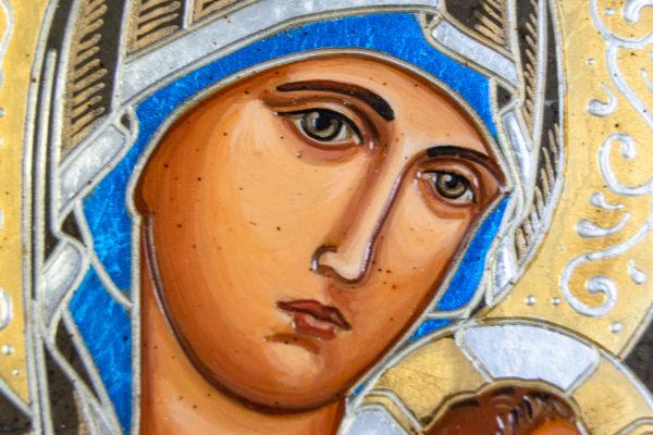 Икона Богоматерь Неустанной Помощи (Страстная икона Божией Матери) № 3-2, изображение, фото 5