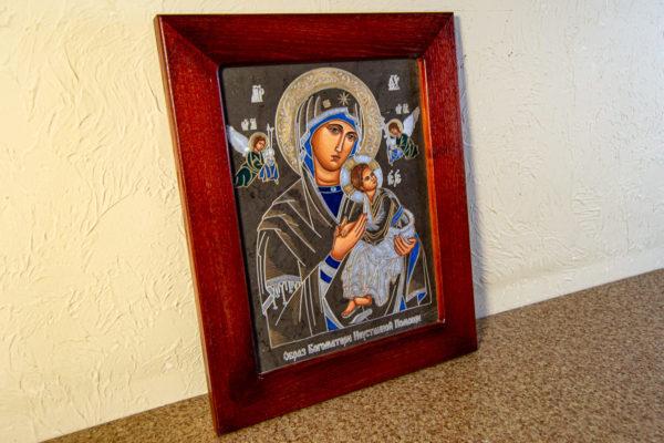 Икона Богоматерь Неустанной Помощи (Страстная икона Божией Матери) № 3-2, изображение, фото 7