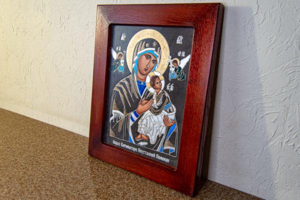 Икона Богоматерь Неустанной Помощи (Страстная икона Божией Матери) № 3-2, изображение, фото 9