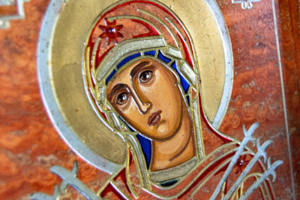 Икона Семистрельная № 4-12 из камня, от Гливи, фото 9