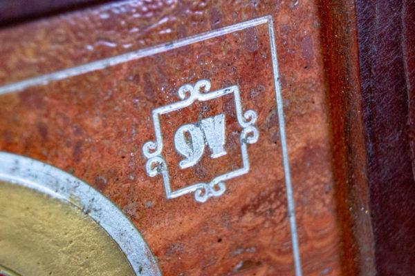 Икона Семистрельная № 4-12 из камня, от Гливи, фото 10
