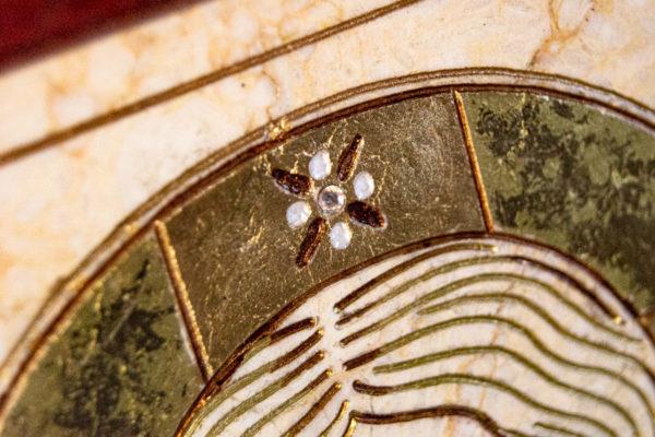 Икона Господа Вседержителя № 3-07 (Пантократор) из камня, Гливи, фото 7