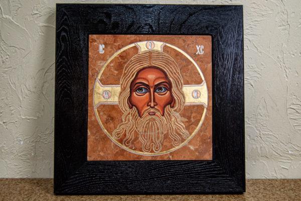Икона Спас Нерукотворный № 3-1, изображение, фото 1
