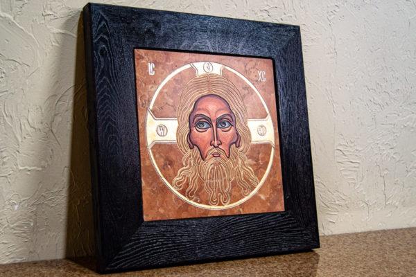 Икона Спас Нерукотворный № 3-1, изображение, фото 2