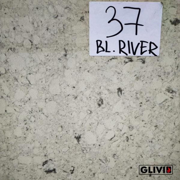 Кварцевый камень, композит кварца Bianco River, изображение, фото 1