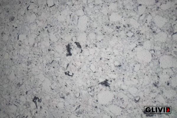 Кварцевый камень, композит кварца Bianco River, изображение, фото 2