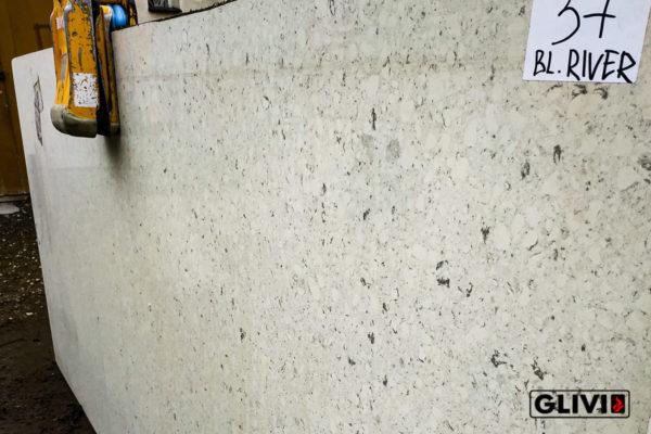 Кварцевый камень, композит кварца Bianco River, изображение, фото 4