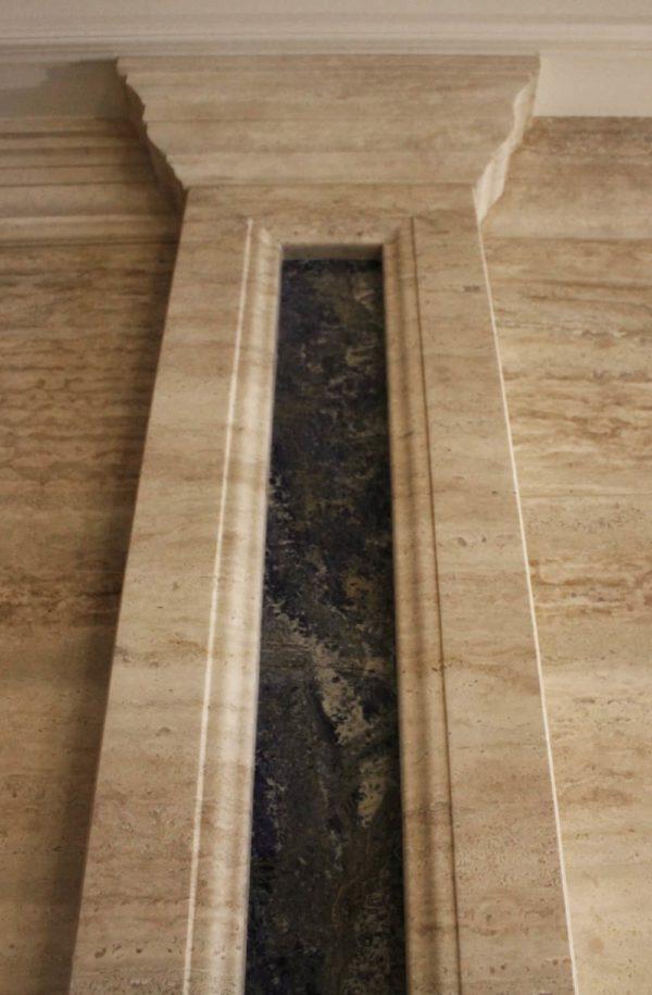 Колонна из натурального камня (мрамора) Кодрат, фото 1