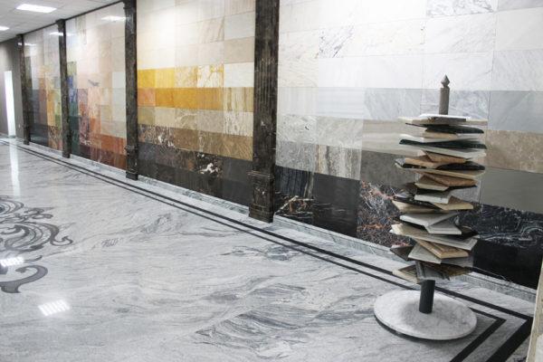 Колонна из натурального камня (мрамора) Бенедикт, фото 2