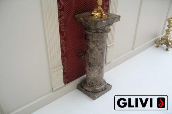 Колонна из натурального камня (мрамора) Кармела, фото 1