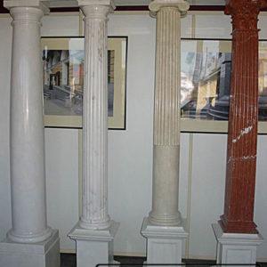 Пример колонн из натурального камня (мрамора) от Гливи, фото 1