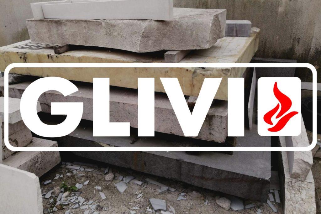 Продажа массива гранита от Гливи