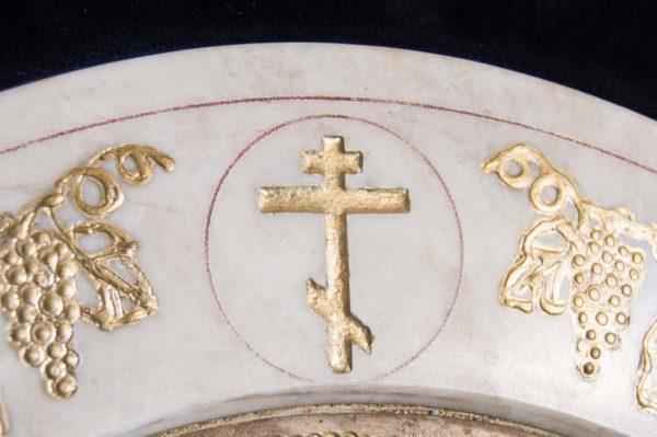 Икона Жировицкой (Жировичской) Божией Матери № п-2 из мрамора, камня, изображение, фото 9