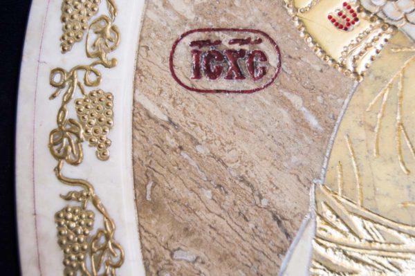 Икона Жировицкой (Жировичской) Божией Матери № п-2 из мрамора, камня, изображение, фото 11