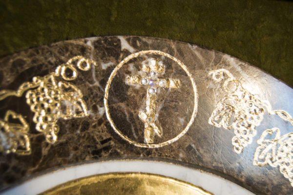 Икона Жировицкой (Жировичской) Божией Матери № п-3 из мрамора, камня, изображение, фото 9