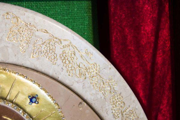 Икона Жировицкой (Жировичской) Божией Матери № п-7 из мрамора, камня, изображение, фото 2